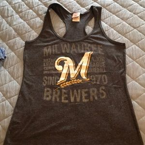 Racer back Brewers Tank
